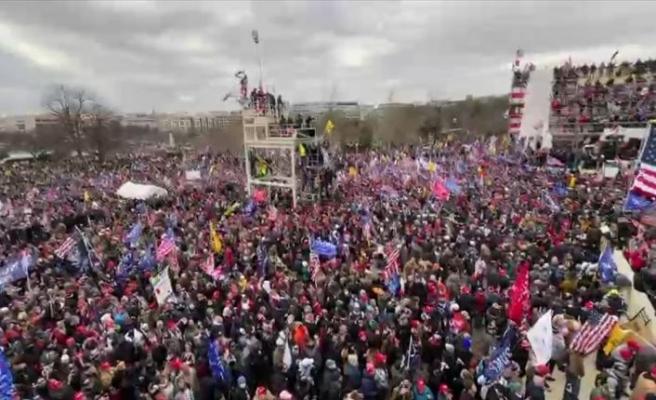 ABD Kongresi 1814'ten bu yana ilk kez işgale tanık oluyor