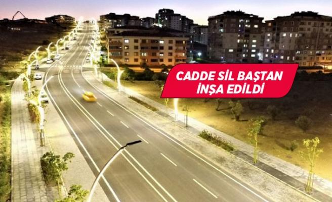 Aliağa'nın ülkeye örnek prestij caddesi!