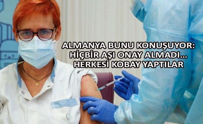 Almanya bunu konuşuyor: Hiçbir aşı onay almadı… Herkesi kobay yaptılar