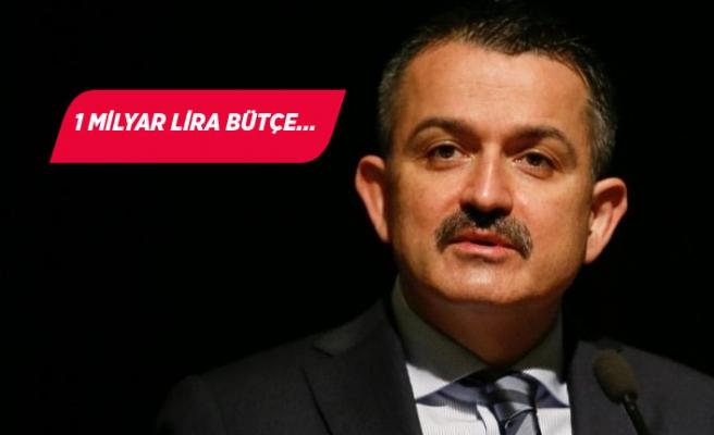 Bakan Pakdemirli İzmir'de açıkladı!
