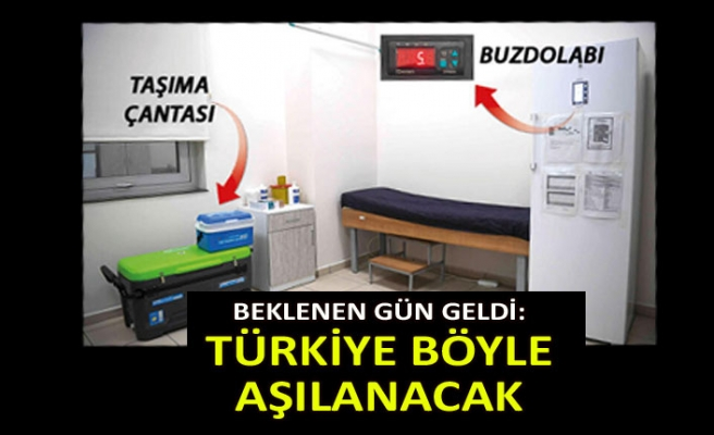 Beklenen gün geldi: Türkiye böyle aşılanacak
