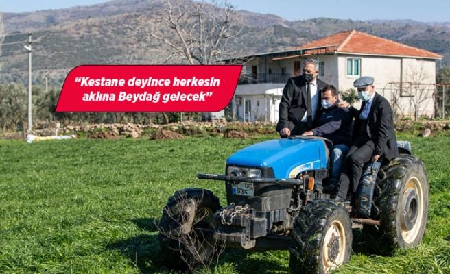 Beydağ'da Başkan Soyer'den üreticiye müjde