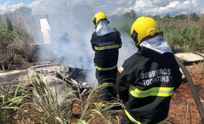 Brezilya'da uçak düştü, kulüp başkanı ve dört futbolcu hayatını kaybetti!