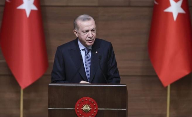 Cumhurbaşkanı Erdoğan, Ödül Töreni'nde konuştu