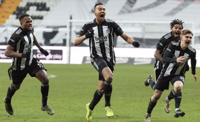 Derbide kazanan Beşiktaş