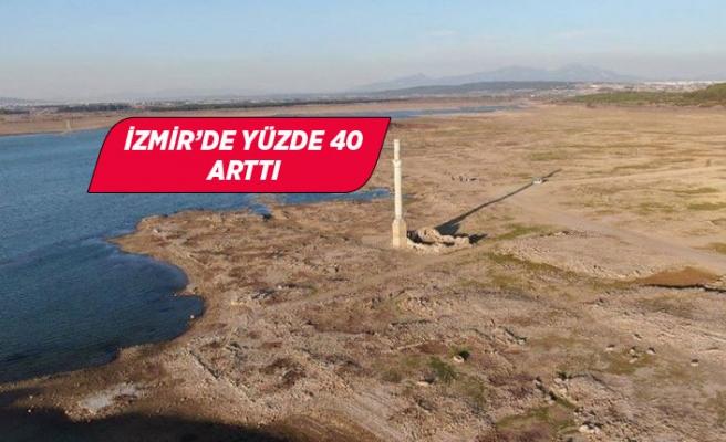 Ege'de yağışlar önceki yıllara göre yüzde 34 azaldı