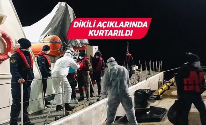 İzmir açıklarında 28 sığınmacı kurtarıldı