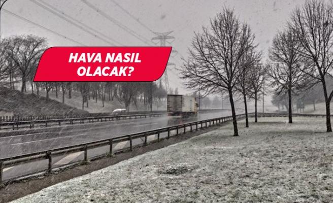 İzmir bugün de soğuk ve karlı!