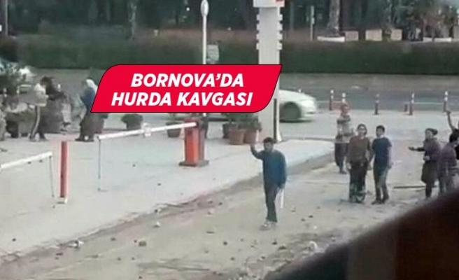 İzmir'de hurda kavgası: 2 yaralı