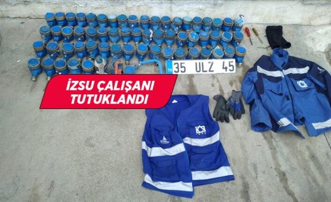 İzmir'de İZSU çalışanının su sayaçlarını çaldığı iddia edildi