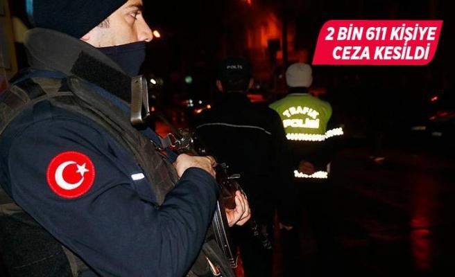 İzmir'deki asayiş uygulamalarında bin 339 kişi yakalandı