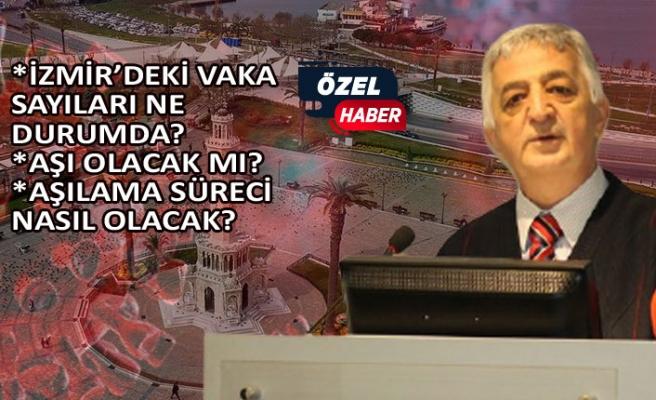 İzmir Tabip Odası Başkanı anlattı: İzmir'de salgın ne durumda?