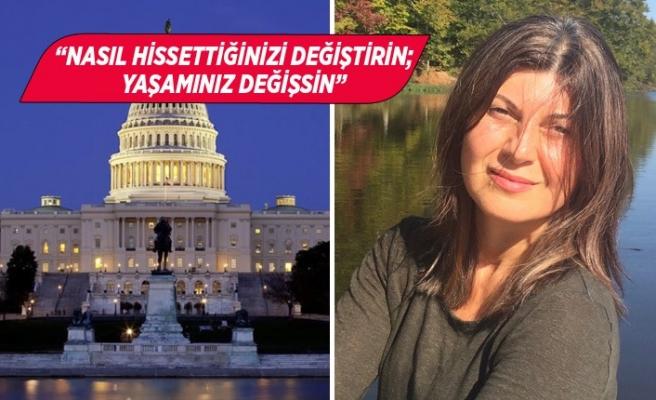 İzmirli Elvan Demirkan Amerikan Kongresi'ne moral verecek