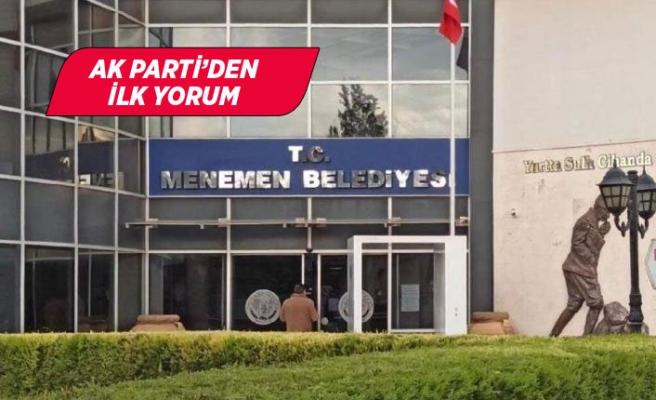 'Menemen'de AK belediyeciliğe merhaba!'