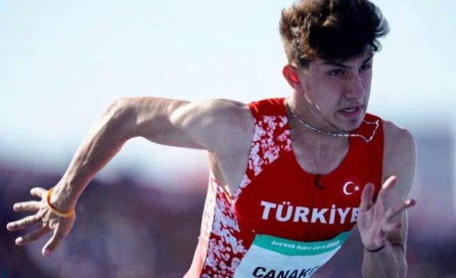 Milli atlet İlyas Çanakçı, Viyana'da ikinci oldu