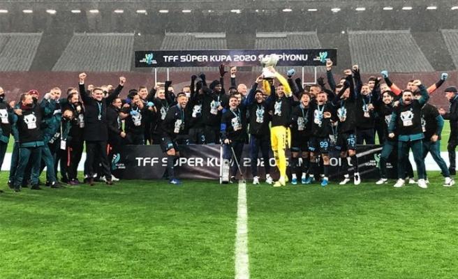Süper Kupa Trabzonspor'un!