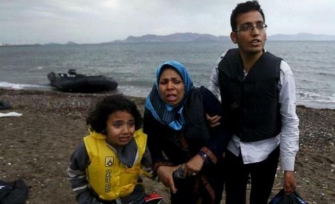 Yunanistan: 1450 mülteciyi Türkiye'ye geri göndermeye çalışıyoruz