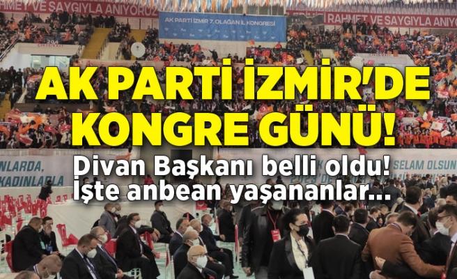 AK Parti İzmir'de kongre günü!