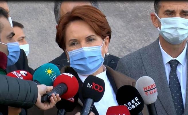 Akşener, 'hakaret' davası kapsamında ifade verdi