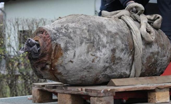 Almanya'da İkinci Dünya Savaşı'na ait bomba bulundu