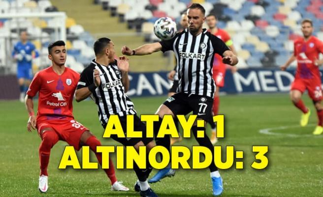 Altay: 1 - Altınordu: 3