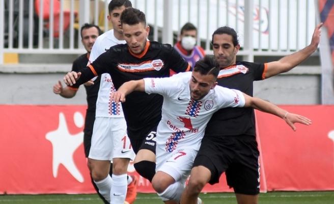 Altınordu - Adanaspor: 1-1