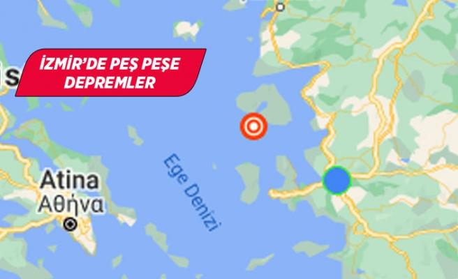 Başkan Soyer ve Vali Köşger'den deprem açıklaması