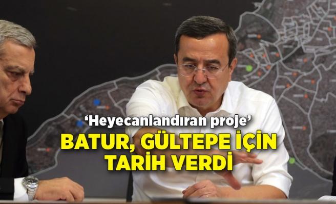 Batur, Gültepe için tarih verdi