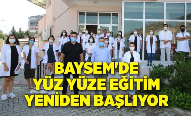 BAYSEM'de yüz yüze eğitim yeniden başlıyor