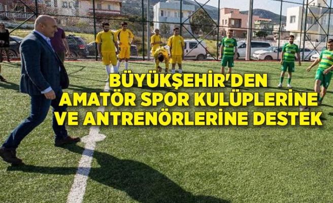 Büyükşehir'den amatör spor kulüplerine ve antrenörlerine destek