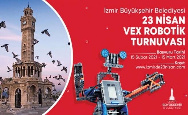 Büyükşehir'den 23 Nisan'da Vex Robotik Turnuvası