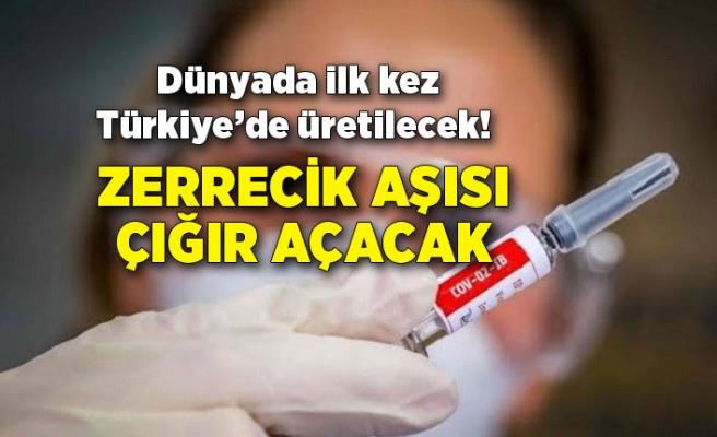 Dünyada ilk kez Türkiye'de üretilecek! Zerrecik aşısı çığır açacak