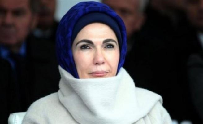 Emine Erdoğan: 'Torunlarım için üzülüyorum'
