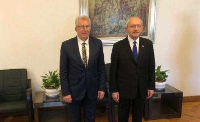 Eriş, CHP Lideri Kılıçdaroğlu'nu ziyaret etti