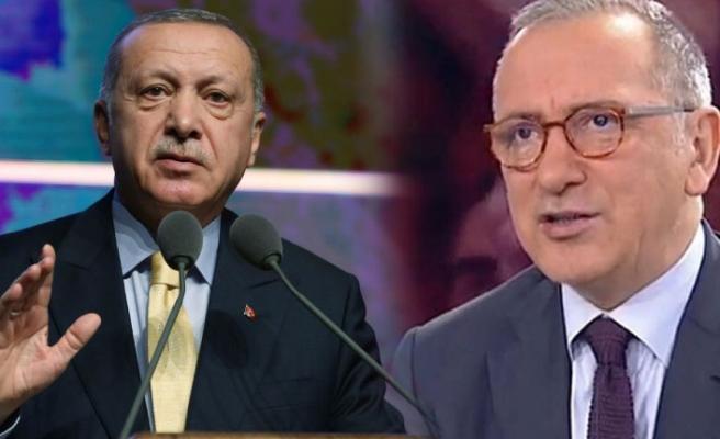 Fatih Altaylı'nın Erdoğan'a çağrısına yanıt geldi