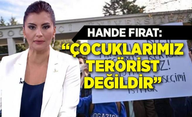 Hande Fırat'tan Cumhurbaşkanı Erdoğan'a yanıt