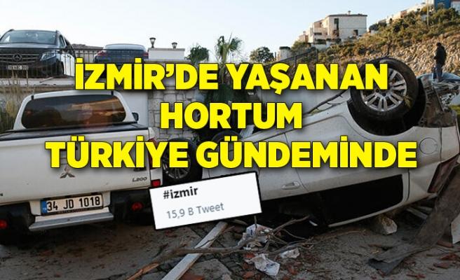 İzmir'de yaşanan felaket Türkiye gündeminde