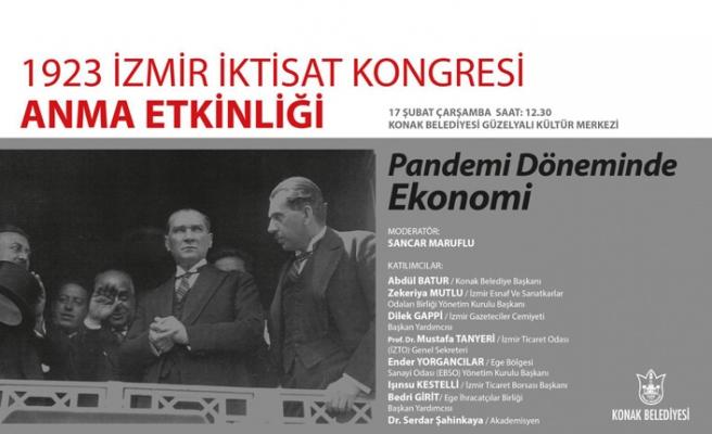 İzmir İktisat Kongresi'nin 98. yıldönümüne özel anma