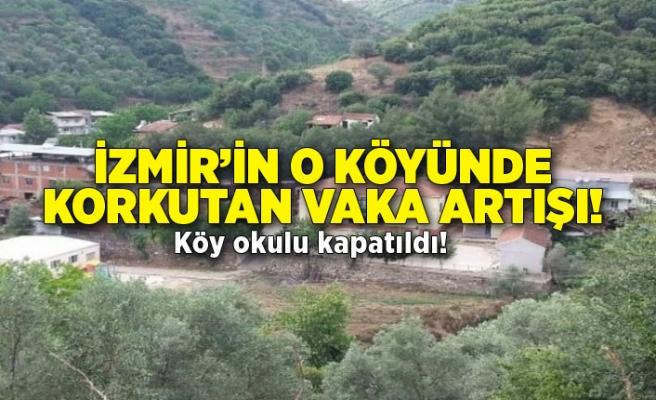 İzmir'in o köyünde vakalar arttı: Köy okulu kapatıldı!