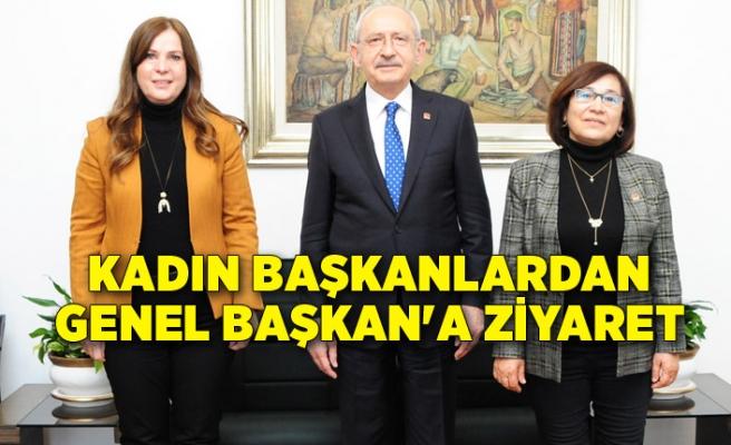 Kadın başkanlardan Genel Başkan'a ziyaret