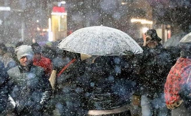 Kar uyarısının ardından fırtına uyarısı