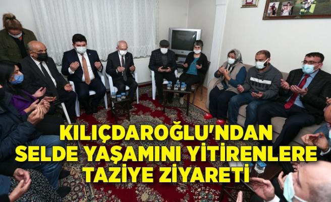 Kılıçdaroğlu'ndan selde yaşamını yitirenlere taziye ziyareti