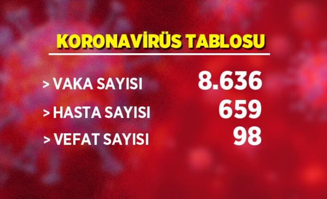 Koronavirüs tablosu: Vaka sayısında artış var