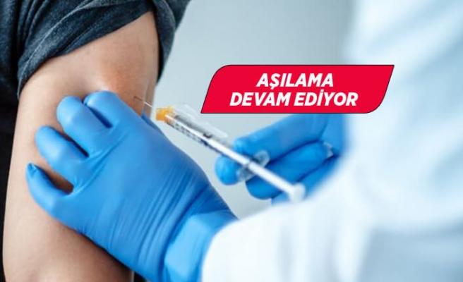 Kovid-19 aşısı yaptıranların sayısı 2 milyonu geçti