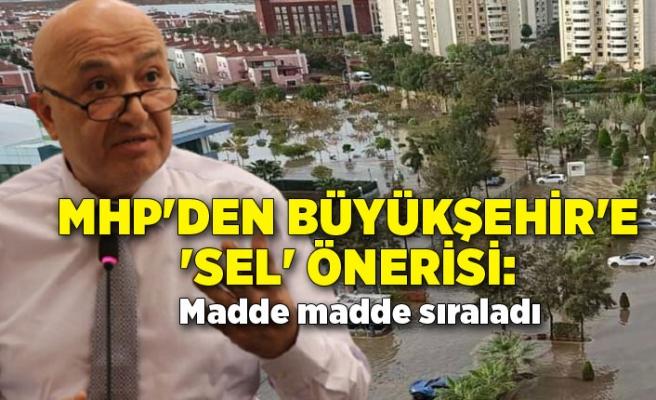 MHP'den Büyükşehir'e 'sel' önerisi: Madde madde sıraladı