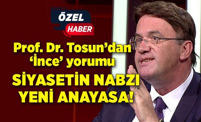 Prof. Dr. Tosun'dan 'İnce' yorumu