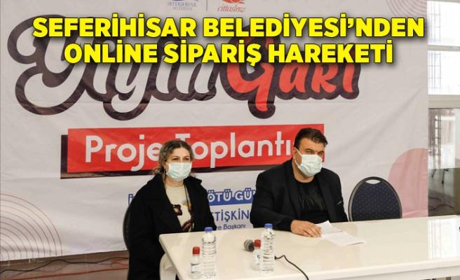 Seferihisar Belediyesi'nden online sipariş hareketi