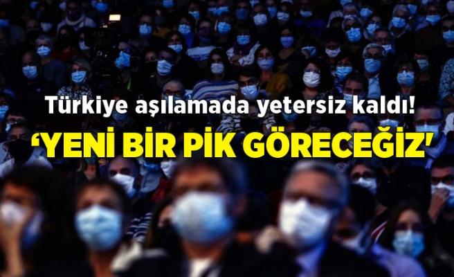 Türkiye aşılamada yetersiz kaldı! 'Yeni bir pik göreceğiz'