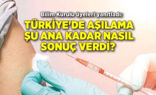 Türkiye'de aşılama şu ana kadar nasıl sonuç verdi? Bilim Kurulu üyeleri yanıtladı
