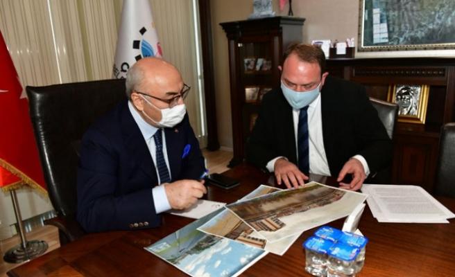 Vali Köşger'den Çiğli Belediyesi'ne ziyaret